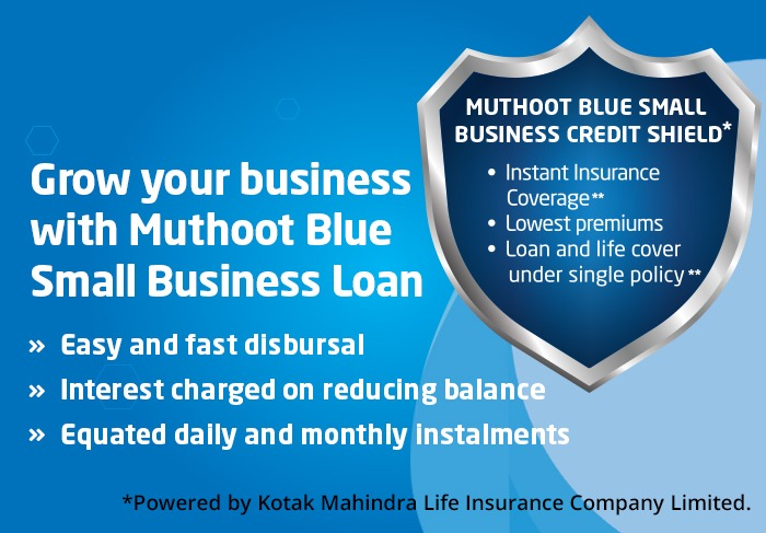 Muthoot Blue Small Business Loan