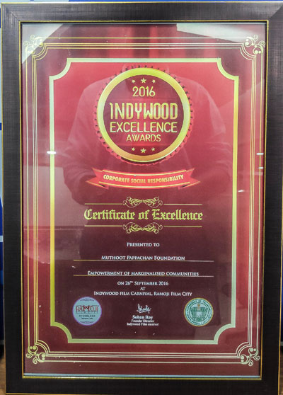 Indywood Excellence Awards, 2016:Muthoot Fincorp