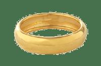 Hallmarked 916 Ring